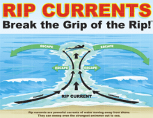 Rip Current Safety Tips