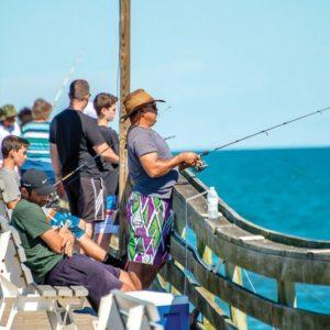 Virginia Beach Pier Fishing