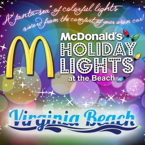 McDonald's Holiday Lights At The Beach Event