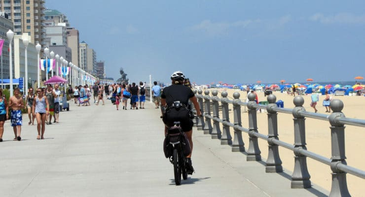 Security is always present on the boardwalk to ensure visitors are having a fun, safe and relaxing vacation