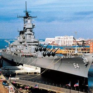 The Battleship Wisconsin