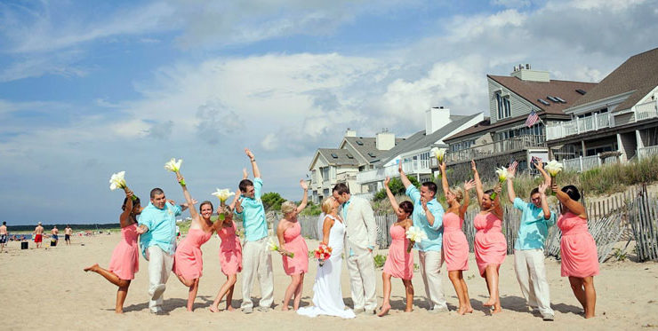 With miles of coastline to choose from, you can have whatever kind of beach wedding you want!