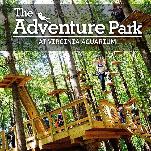The Adventure Park at Virginia Aquarium - Virginia Beach, VA