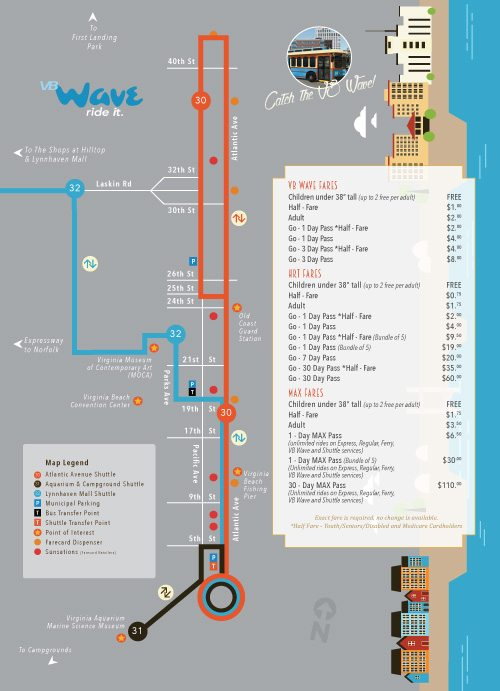 The Wave Trolley Schedule and Stops