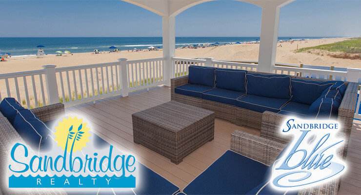 Sandbridge Realty and Sandbridge Blue both have a wide range of Beach Homes to choose from