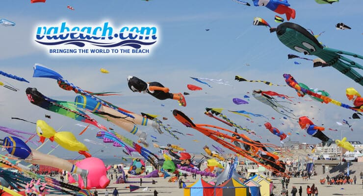 The Atlantic Coast Kite Festival in full swing! We don't know how the kites don't get tangled either :)