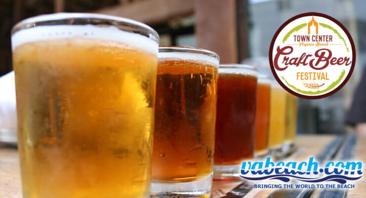 Town Center Craft Beer Festival features over 50 different craft beers for you to experience