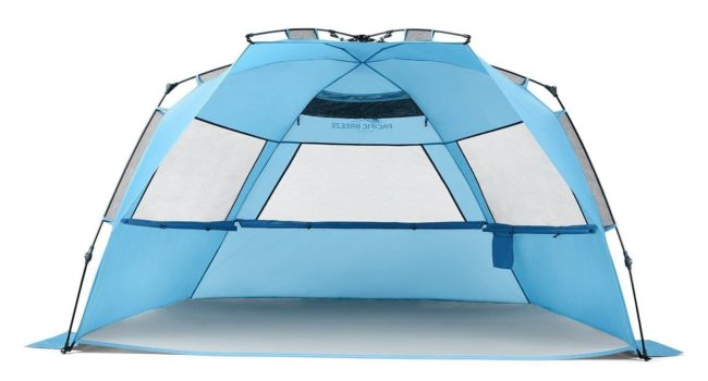Pacific Beach Easyup Beach Tent Deluxe XL