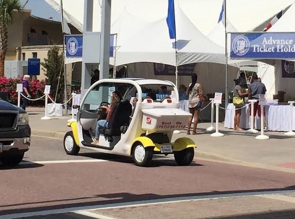 Virginia Beach Golf Cart Transportation