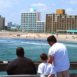 Pier Fishing in Virginia Beach