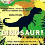 """Dinosaur! A New Play"" by the Children's Theatre of Hampton Roads"