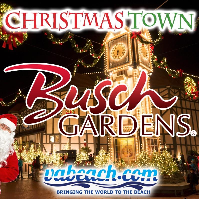 Busch gardens christmas town event virginia beach va for Busch gardens christmas town 2016