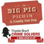 Virginia Beach Crime Solvers Pig Pickin' & Family fun Day