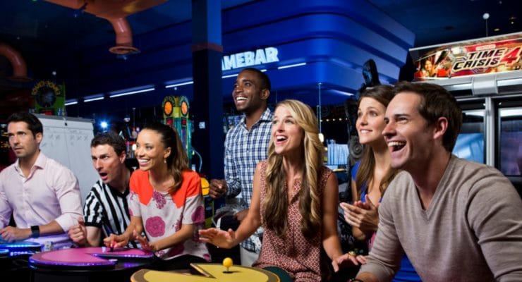 Dave & Buster's Company Events