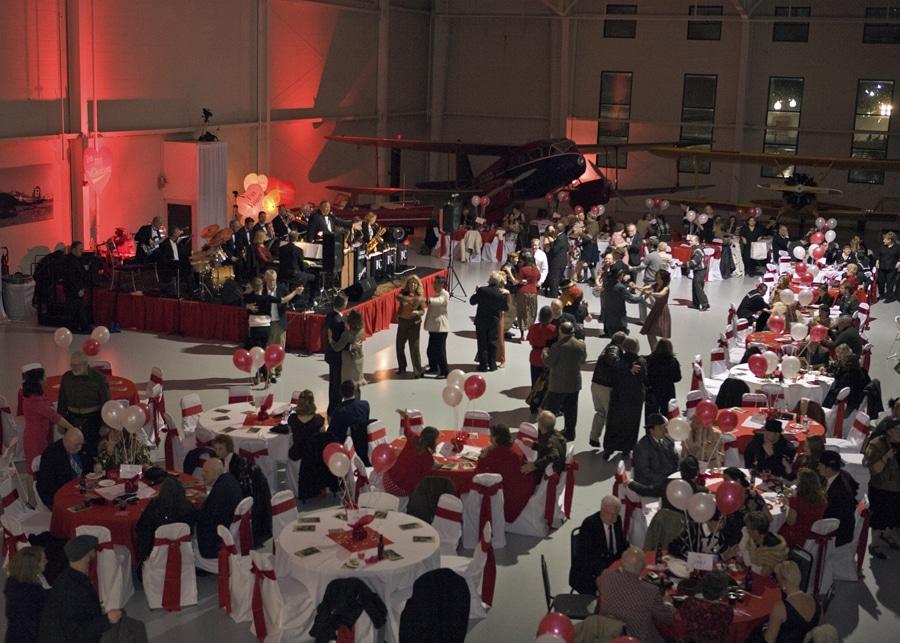 Valentines Hangar Dance Event Virginia Beach Va