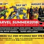 We Got the KIDS Marvel Summer 2018