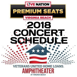 We Ve Got Almost 30 Major Artists Performing Just Minutes Away From The Oceanfront Check Out Veteran S Home Loans Amphitheater In Virginia Beach