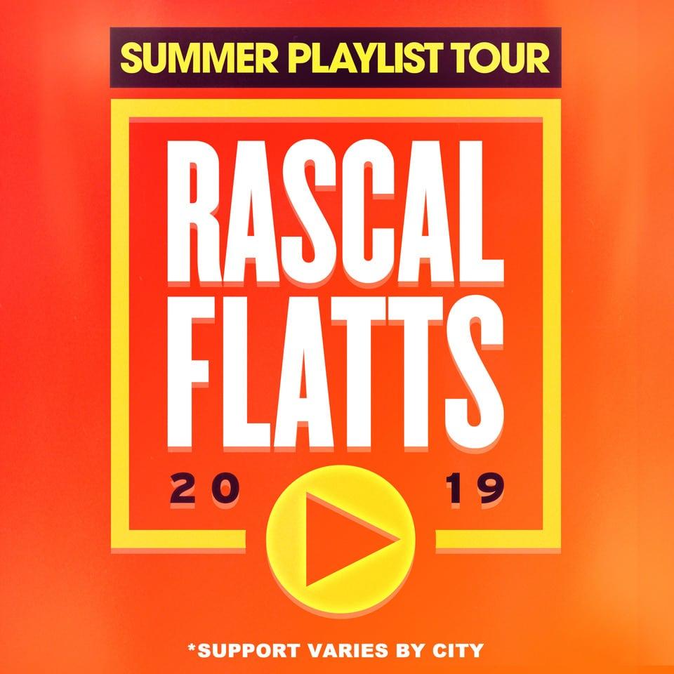 Rascal Flatts - Summer Playlist Tour 2019 Event - Virginia