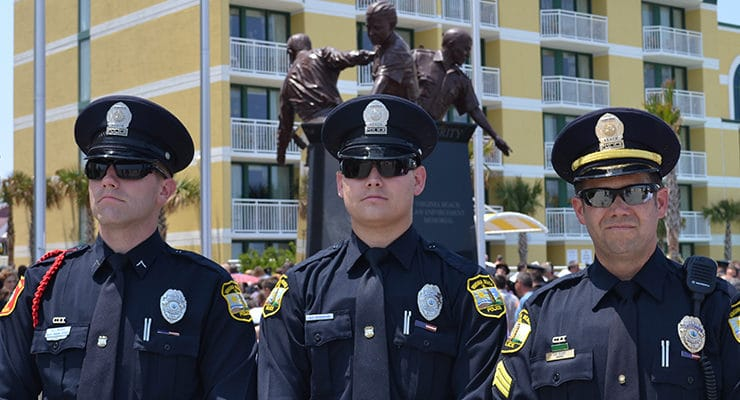 Virginia Beach Law Enforcement Monument