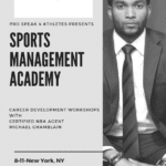 Sports Management Academy with NBA Agent Michael Chamblain