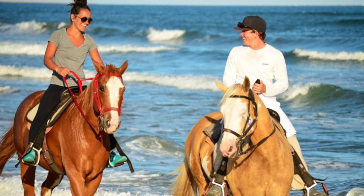 Horseback Riding for Date Night in Virginai Beach