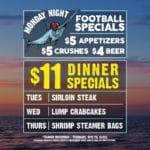 $11 Locals' Dinner Specials at Chix