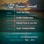 $12 Locals' Dinner Specials at Waterman's