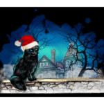 Black Cat Escape Room Christmas Themed Pop-Up