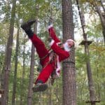 Santa Climb at Adventure Park at Virginia Aquarium