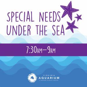 Special Needs Event at Virginia Aquarium