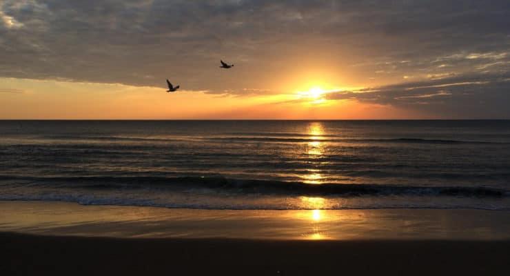 Sunrise in Virginia Beach