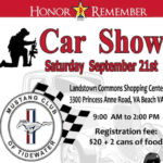 Honor and Remember Car Show
