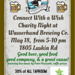 Event - Connect With a Wish Fundraiser at Wasserhund Brewery
