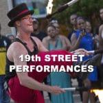Street Performances at 19th Street